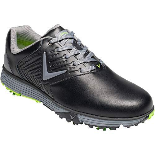 Callaway Herren Chev Mulligan S Waterproof Lightweights Golfschuhe, Schwarz Black, 42 EU - Square Outlet