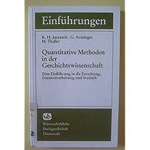 Quantitative Methoden in der Geschichtswissenschaft