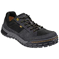 Caterpillar New Mens CAT Casual Lace up Black Walking Hiking Trainer Shoe (UK6)