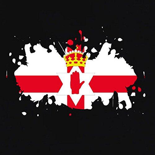 TEXLAB - Splash Nordirland - Herren T-Shirt Navy