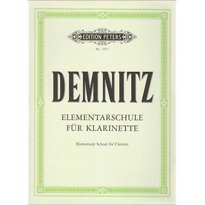 Elementarschule fur Klarinette (méthode élémentaire pour clarinette)