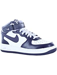 Nike - Air Force 1 Mid GS - Color: Blanco-Violeta - Size: 37.5