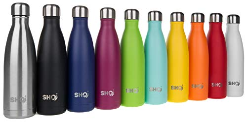 8bedc6aa50 SHO Bottle - Ultimate Vacuum Insulated, Double Walled Stainless Steel Water  Bottle & Drinks Bottle - 24 Hrs Cold & 12 Hot - Sports Vacuum Flask BPA  Free ...