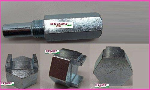 Kit blocca pistoni bloccaggio motore motosega +chiave estrattore smonta frizio