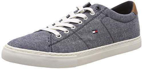 Tommy Hilfiger Herren Seasonal Textile Sneaker, Blau (Midnight 403), 44 EU
