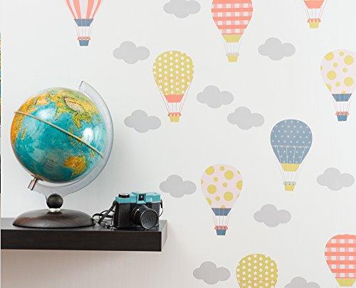 MONGOLFIERE - Adesivi murali - wall stickers - Decorazioni per cameretta -...