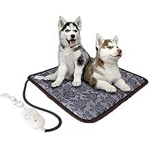 Biniwa – 1 pieza de alfombrilla de calefacción para mascotas, eléctrica, impermeable, para