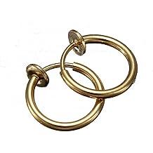 Clip On Hoop Boby naso anello Piercing labbro, orecchio orecchini punk