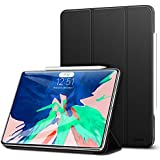 """ESR Yippee Magnetic Smart Case For The IPad Pro 11"""" 2018, [Support Apple Pencil Charging] Trifold Stand Case, Magnetic Attachment, Auto Sleep/Wake, Rubberized Cover For The IPad Pro 11"""" 2018, Black"""
