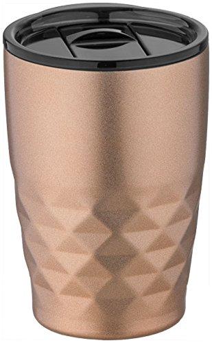 Isolierbecher Reisebecher Thermo Becher Kaffeebecher drei verschiedene Farben von noTrash2003 (Kupfer)
