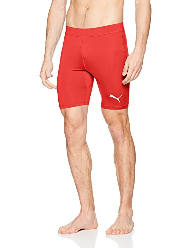 PUMA Herren Liga Baselayer Short Tight Hose, Red, XL
