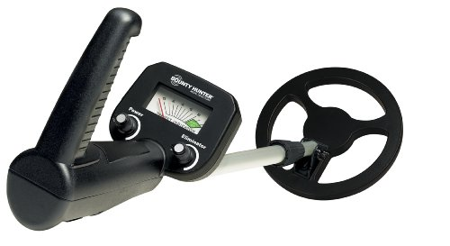 Bounty Hunter Junior Metal Detector with adjustable trash elimination