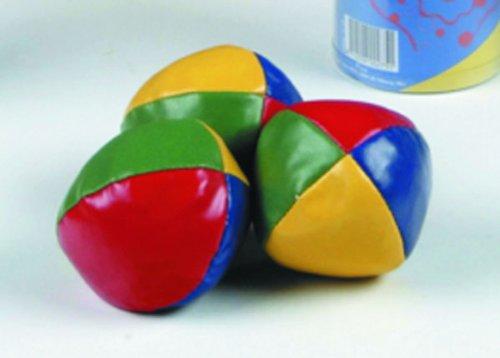 3er Set Jonglierbälle, groß (63 mm)