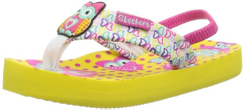 Skechers Waterlilly Splish Splash, Mädchen Sandalen, Gelb (YLMT), 21 EU