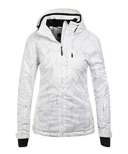 Maier Sports Damen Skijacke Wattiert Harper Green Allover, 40