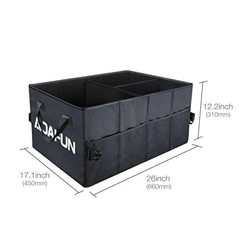 Aoafun-Premium-Quality-Auto-Trunk-Organizer-65-47-32CM-Zusammenklappbarer-Speicher-Organizer-Tasche-mit-Multi-Fchern-umweltfreundlicher-Premium-Cargo-Storage-Container-fr-Auto-SUV-Truck-Minivan-mit-Dr