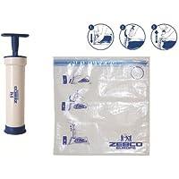 Zebco Vakuum Pumpe + 1L Beutel,Grundausstattung