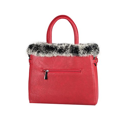 OBC Only-Beautiful-Couture, Borsa a spalla donna marrone cognac ca.: 30x26x12 cm (BxHxT) Rot
