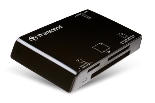Transcend All-in-1 Multi Card Reader USB2.0 RDP8(TS-RDP8K) Black