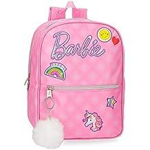 Mattel Barbie Fashion Mochila Infantil, 32 cm, 7.36 litros, Rosa