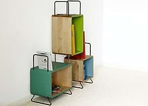 Soldes Alfred & Compagnie - Bibliothèque 3 modules Tia