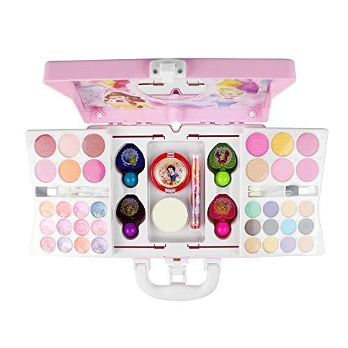 53 PCS Disney Princess kosmetik kit Schminkkoffer Schminkset Kinder Schminkkoffer Mädchen für...