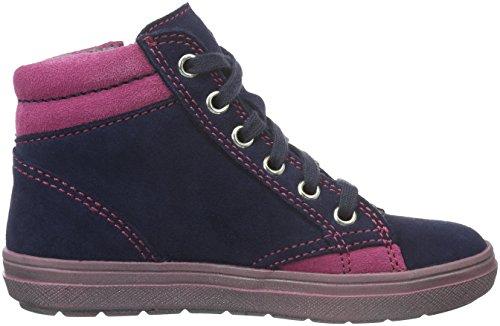 Richter Kinderschuhe Mädchen Ilva Sneakers Blau (atlantic/mallow 7201)