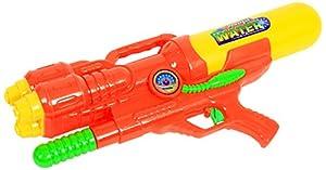 Aptafêtes MGM 048508-Sacher Pistola de Agua Bomba 47cm 3chorros-3años