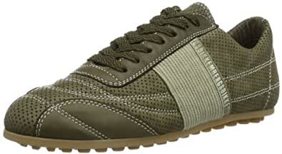 Bikkembergs 640977 640977 Unisex-Erwachsene Sneaker, Grün(Olive), EU 40