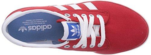 adidas Kiel, Herren Sneakers Rot (Collegiate Red/Running White/Bluebird)