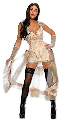Kostüm Lilah White Größe S ()
