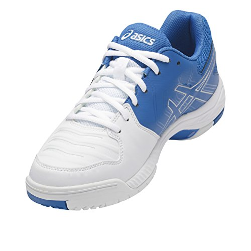 Asics Herren Gel-Game 6 Clay Tennisschuhe weiss / blau