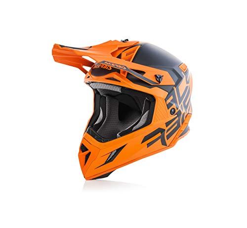 Acerbis casco x-pro vtr nero/arancio s