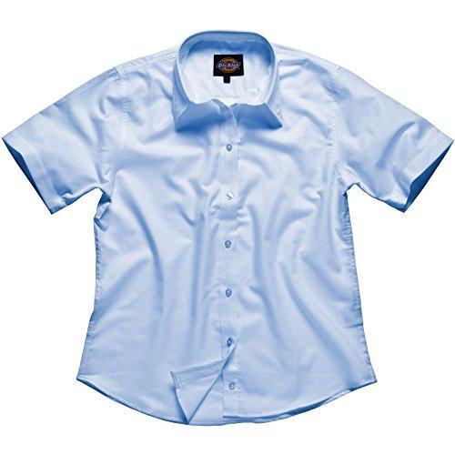 """'Dickies camicia da donna """"Oxford a maniche corte, 1pezzi, 36, Blu, sh64350Bu 10"""