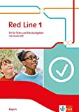 Red Line 1: Fit für Tests und Schulaufgaben mit Audio-CD Klasse 5 (Red Line. Ausgabe für Bayern ab 2017)