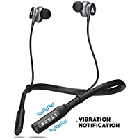Boult Audio ProBass Curve Neckband in-Ear Wireless Bluetooth Earphones with Mic IPX5 Sweatproof Deep Bass Headphones with Long Battery Life Flexible Headset (Black)