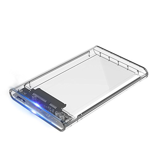 ORICO USB 3.0 Externes Festplatten Gehäuse für 2.5 Zoll SATA SSD und HDD - UASP SATA III 6Gb/s
