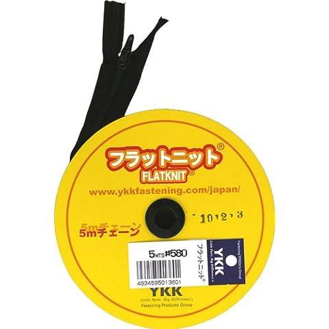 YKK zipper flat knit 5m chain COL.580 (japan import)
