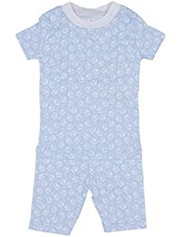 173e8e103f0 Kissy Kissy Baby-Boys Infant Gone Sailing Print Short Pajamas Set-Light Blue -
