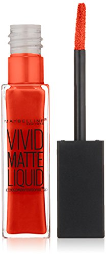 MAYBELLINE Vivid Matte Liquid - Orange Shot - New York Color Liquid Lip