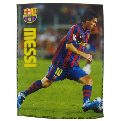 FC Barcelona Messi Fleece Decke,Messi Tagesdecke Kuscheldecke EDEL