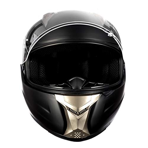 8494999fdc3 ... Westt Casco Moto Integral - Storm Negro Mate ECE ...