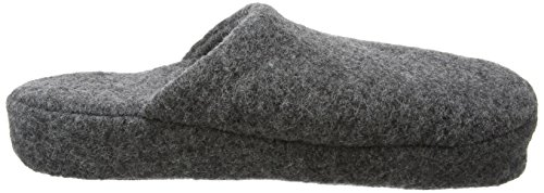 Woolsies Yosa Natural Wool Mule, Chaussons homme Gris - Grey (Graphite Grey)