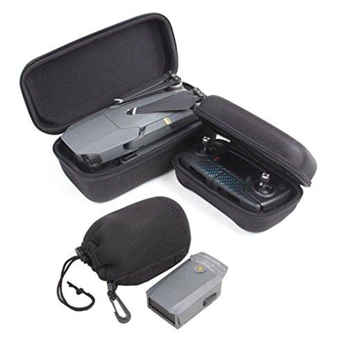 Bescita Tragbare Travel Case Bag Box + Fernbedienung Case + Batterie Tasche für DJI Mavic Pro Drohne