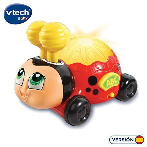VTech-80-601622 Mariquita Colorita Interactivo Infantil con Ruedas, Multicolor (3480-601622)