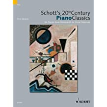 SCHOTT 20TH CENTURY CLASSICS 54 PIANO PIECES FROM JANACEK TO CHICK COREA by Emonts, Fritz, Mohrs, Rainer (2003) Paperback