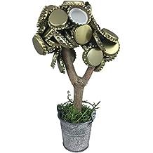 Toller Magnetbaum mit 2 starken Magneten 20cm lustiges Geschenk für Männer hält über 50 Kronkorken Geburtstagsgeschenk Trinkspiel ORIGINAL Kronly