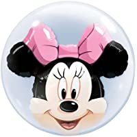"""MINNIE MOUSE - PALLONCINO BUBBLE INSIDER 24"""""""