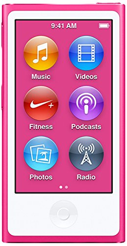 Apple iPod nano nano MP4 player 16GB Pink - MP3/MP4 Players (MP4 player, 16 GB, LCD, Lightning, FM radio, Pink)