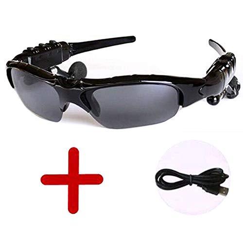 LFFSPORT Multifunktionale Sport-Digital-Sonnenbrille Drahtlose Bluetooth-Sonnenbrille Kopfhörer Stereo-Musik Driving Glasses + Polarized Lenses
